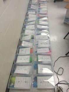 School Wide Classroom Calming Down Boxes