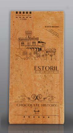 Estoril | Forte da Cruz  | Chocolate Negro 48% Cacau 125 g Estoril, History Of Chocolate, Bamboo Cutting Board, Wedding Favors, Portugal, Joy, Flowers, Cocoa, Strong