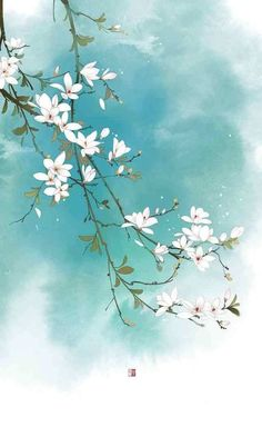 Ideas Flowers Design Painting Inspiration in 2020 Photo Wallpaper, Flower Wallpaper, Watercolor Flowers, Watercolor Art, Painting Flowers, Afrique Art, Art Asiatique, Bild Tattoos, Flower Backgrounds