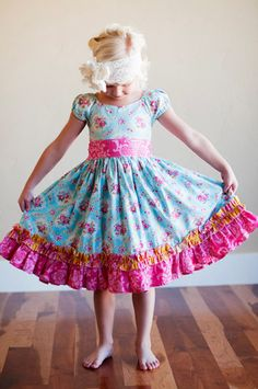 Josephine Dress | Sewing Pattern | YouCanMakeThis.com