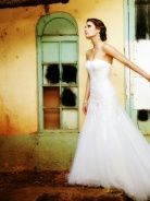 Vote for Bride of the year. sms 31125 to Vintage Style, Vintage Fashion, One Shoulder Wedding Dress, Bride, Elegant, Wedding Dresses, Classy, Chic, Bridal Dresses