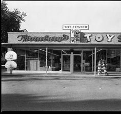 Thornburys Toys bldg. Shelbyville Rd at Browns Lane - St. Matthews. :: Royal Photo Company Collection.....loved this place when I was so young!