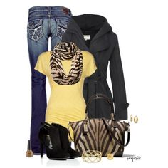 """""""Contest: Casual outfit with 3 Featured Items"""" by exxpress on Polyvore"""