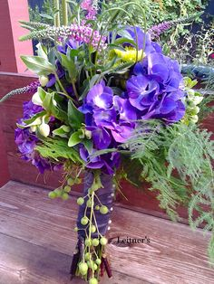 Leitner's-made bouquet