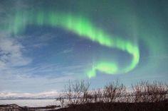 Northern Lights over Abisko, Swedish Lapland.