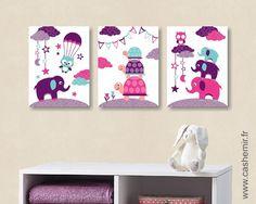 affiche pour enfant illustration bb poster enfant fille dcoration chambre lphant tortue rf120 - Affiche Garcon Robot