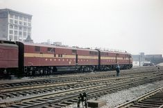 Pennsylvania Railroad, Railroad Tracks, Trains, Diesel, American, Color, Diesel Fuel, Colour, Train
