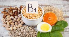 Vitamin B1 gehört zu den wasserlöslichen Vitaminen und wird auch Thiamin genannt. Es sorgt für gesunde Nerven und den Energiestoffwechsel (Mitochondrien).