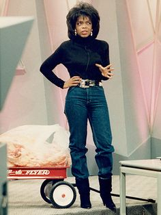 Oprah Winfrey (Here you see her coming coming up with her plan to make billions. It worked by the way.)