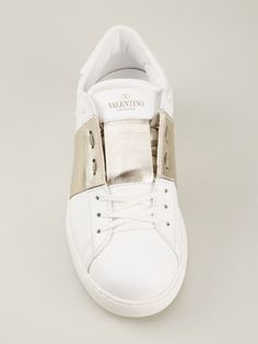 Valentino Garavani 'low Top Open' Sneakers - Hirshleifers - Farfetch.com