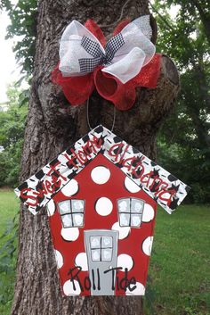 Alabama Door hanger Roll Tide Door hanger by BluePickleDesigns, $40.00