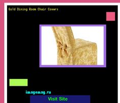 Gold Dining Room Chair Covers 075355
