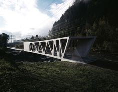 'alfenz bridge' by marte marte architects