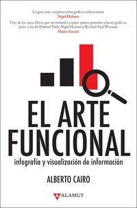 El arte funcional : infografía y visualización de información / Alberto Cairo