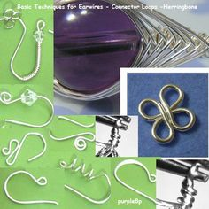 Basic earwires and loops tutorial - $0