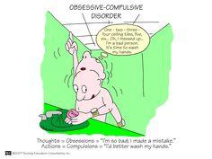 Obsessive-Compulsive Disorder | Nursing Mnemonics and Tips