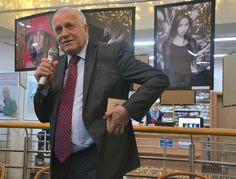 Bývalý prezident Václav Klaus v ostravském Knihcentru (FOTO: Jan Štěpán)