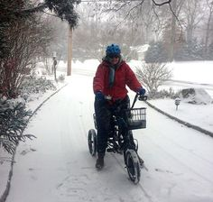 Liberty Trike: Storage and Safekeeping for Winter Electric Trike, Bike News, Tom S, Winter Months, Baby Pictures, Liberty, Baby Strollers, Angels, Weather