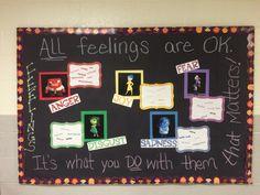 Inside Out bulletin board