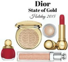 Dior State of Gold Makeup Collection for Holiday 2015