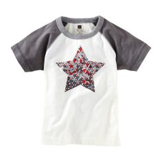 Star Mosaic Raglan Tee - City Mouse Studio