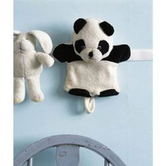 Use Velcro for easy stuffed animal storage.