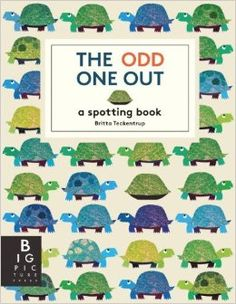 The Odd One Out: A Spotting Book by Britta Teckentrup from Each spread features fun rhyming couplets, beautiful and complexly patterned artwork, and a hidden surprise. Great Books, New Books, Books To Read, Edition Jeunesse, The Odd Ones Out, Animal Books, Big Picture, Picture Books, Children's Literature