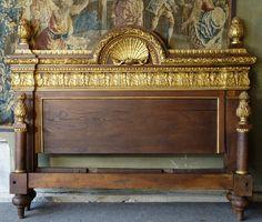 Lit à Colonnes Epoque XVIIème Siècle, Laurence Helmer et Maison James, Proantic