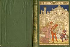 Art nouveau cover for the book, From the wonderland Tales from 1001 nights ( Dutch. ).