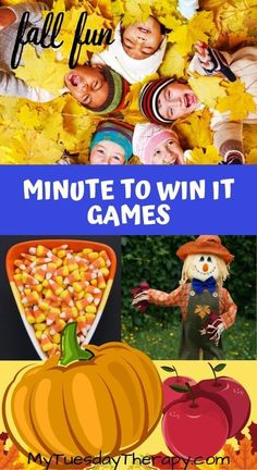 Fall Minute To Win It Games