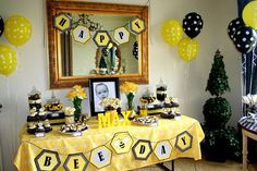 Hostess with the Mostess® - First Bee-Day Party...AWESOME SITE FOR KIDS PARTY THEMES AND IDEAS!