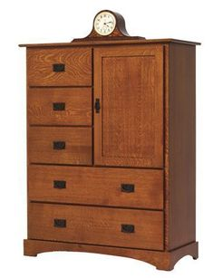 Amish Old English Mission Chest of Drawers With Door Add mission style storage to bedroom with an Old English Chest of Drawers. Solid wood quality and fine Amish craftsmanship. Choose from a variety of wood, stain and hardware options.