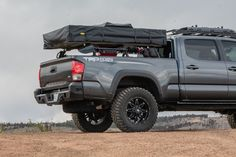 Overland Tacoma, Overland Gear, Toyota Tacoma 4x4, Fords 150, Truck Bed Camping, Cargo Rack, Expedition Truck, Truck Mods, Motorcycle Wheels