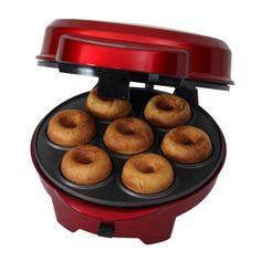 Gourmet Gadgetry Retro Diner 3-in-1 Cake Pops, Doughnuts and Cupcakes Maker