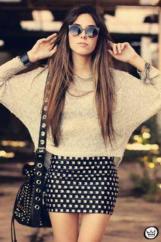 Long hair colour design.