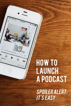 how to launch a podcast by @elise blaha cripe