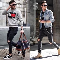 Left or right? Follow @mensfashion_guide for more! By @_maglu_ #mensfashion_guide #mensguides