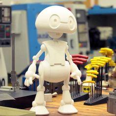Jimmy: Intel's 3D printed open source robot platform | 3DPW