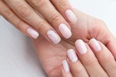 Simple and Elegant Dip Powder Nail Designs – Global Transitional Care White Nail Designs, Simple Nail Designs, Nail Art Designs, Cow Nails, Nude Nails, White Nail Art, White Nails, Blue Nail, Heavenly Nails