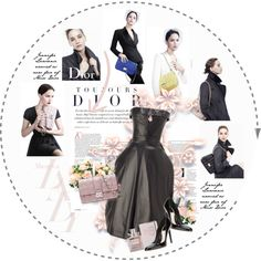 """""""Jennifer Lawrence for Miss Dior"""" by amaryllis on Polyvore"""