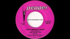 John Phillip Soul And His Stone Marching Band - That Memphis Thing [Pepper] 1968 Funk 45