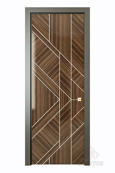 Chicago is a modern model of an interior door in the Art Deco style from the collection of the Stavros company. A variety of finishes from veneers of fine wood to enamel in any shade according to the RAL catalog. Sizes of a cloth (mm): 2000 x 2300 x Flush Door Design, Door Design Interior, Main Door Design, Wall Design, Purple Bedroom Decor, Bedroom Wall Colors, Wooden Door Design, Wooden Doors, Home Decor Boxes