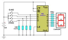 MC4511 Schematic Diagram