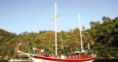 Turkey Sail - the famous Blue Cruise, See Turkey's magnificent Turquoise Coast on board a traditional Gulet. Starts & Ends in Fethiye. Student Travel, Good Student, Sailing Ships, Cruise, Boat, Explore, Cruises, Boats