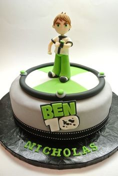 Ben 10 Cake - by A Beautiful Kitchen More