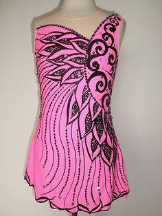 Customized Ice Skating Baton Twirling Dress | eBay
