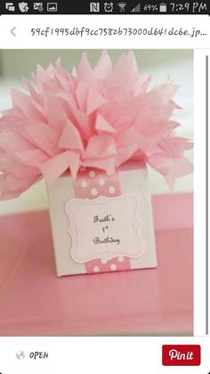This bow could be used for gifts at a baby shower