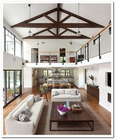 6 Wealthy Tips AND Tricks: Living Room Remodel Ideas Tutorials small living room remodel colour.Living Room Remodel On A Budget Crown Moldings livingroom remodel front porches.Living Room Remodel Ideas Before After. House Plan With Loft, Open Plan House, Open Floor Plan Homes, Open Floor Plans, Loft Floor Plans, Barndominium Floor Plans, Loft House, Living Room Remodel, Apartment Living