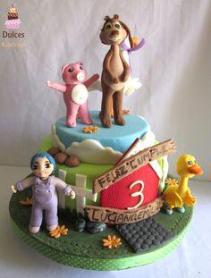 Torta Perro Chocolo #TortaPerroChocolo #TortasDecoradas #DulcesKaprichos