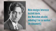 Der indische Philosoph Krishnamurti galt als Wunderkind. Kein anderer Yogi hat so undogmatisch die Zusammenhänge zwischen  Gewaltätigkeit und Angst untersucht wie er.